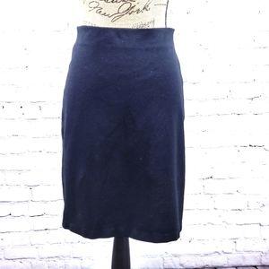 Philosophy black pencil skirt size 8